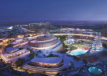 Qiddiya ... aiming to be world's largest entertainment city.