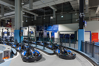 Keeping in mind the top-speed electric karting machines using the track, Havelock One has ensured that the EKart Zabeel track would be safe for both amateurs and professionals.