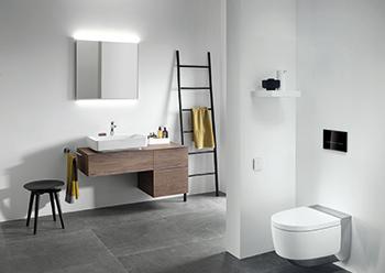 Geberit fittings ... designed to enhance hygiene in the bathroom.