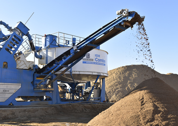 CDE Combo ... specifically designed for the quarry waste fines challenge.