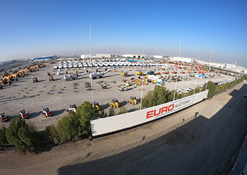 EuroAuctions' facility in Jebel Ali.