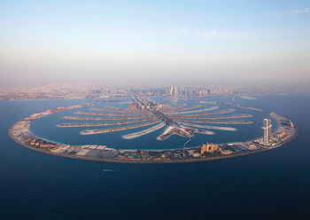 Palm Jumeirah ... witnessing demand.