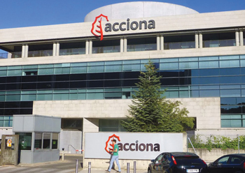 Acciona has a presence in more than 60 countries.