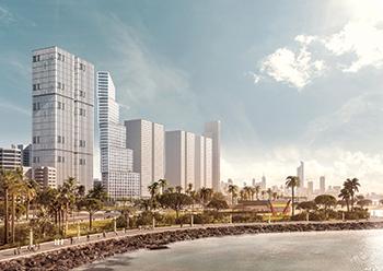Hessa Al Mubarak District, a mega mixed-use development in the tendering stage.