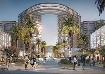 ZED Sheikh Zayed, to be built in six phases, will boast 4,500 residential units.
