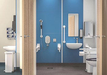 Contour 21+ and Markwik 21+ ranges fit seamlessly together, providing a fully integrated tap and basin system.