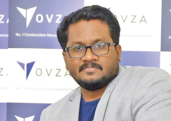 Kumar ... Yovza helps save 70 per cent of processing time and cost.