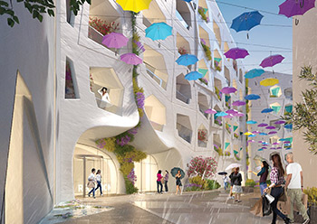 Raining Street ... to open this year in The Heart of Europe.