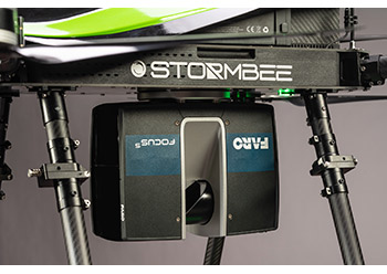 Stormbee utilises Faro's lightweight, portable and use-friendly laser scanners.