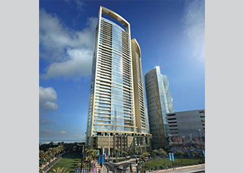 Onyx Bahrain Bay requires over 1.6 million sq ft  of tiles.