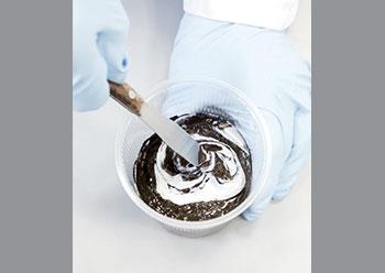 Vinneva added to a conventional bitumen emulsion enhances its properties.