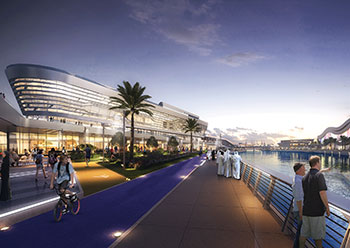The Bridge will feature seven seamless service tracks over a total area of 8,000 sq m.