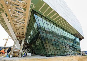 The National Aquarium ... 90 per cent complete.