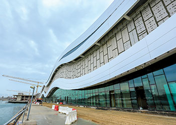 Al Qana Cinema ... some 80 per cent of the work is completed.