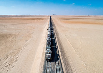 Etihad Rail ... work on Stage 2 has commenced.