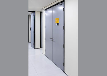 Fire-rated steel doors from Navair.