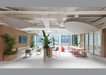 The stunning new office of Takeda is located in the One Central development.