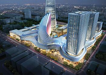 Phase Two of District Al Faisaliah ... futuristic design.