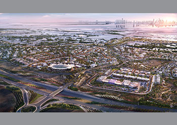 The new interchange will include dual-lane entrance and exit ramps, as well as a fully-signalised bridge crossing over the highway to connect with the island's road network.