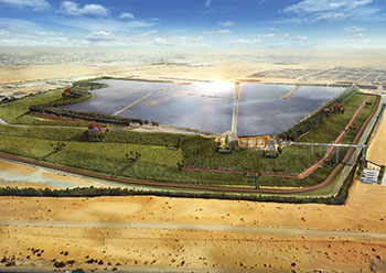 The landfill solar project will generate more than 42 MW of energy per year.