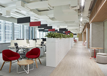 Takeda's office has been awarded LEED silver certification from the USGBC.