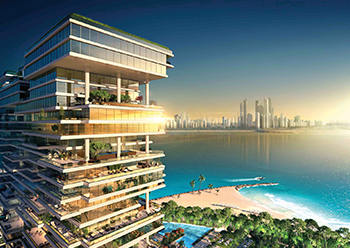 One Palm captures the essence of Dubai beachfront living through illustrious designs and sheer luxurious living spaces.