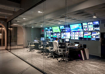 The media and broadcast facility ... purpose-fit.