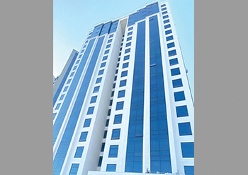 Awtad Residential Tower in Kuwait.
