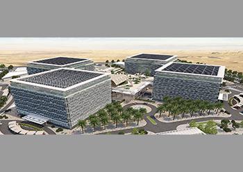 An artist's impression of the Saudi Electricity Company HQ in Riyadh.