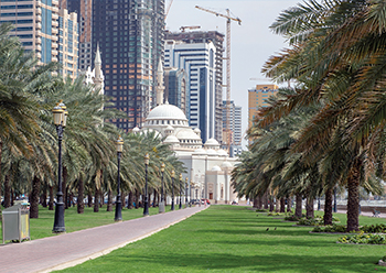 The Eastern region of Sharjah is currently in the midst of major infrastructural expansion.