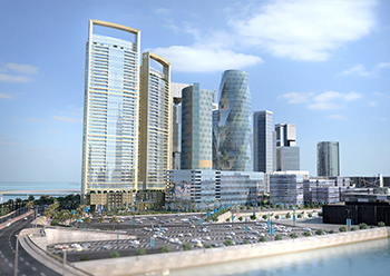 Onyx Bahrain Bay ... selected as the best project in the High-Rise Residential Development category.