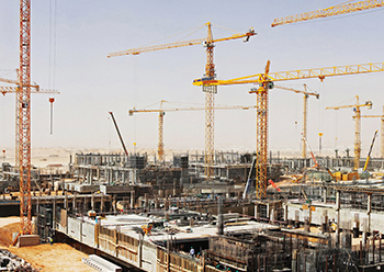 The construction sector's resolve, led by government infrastructure and housing projects, is expected to help in its resurgence as the negative effects of Covid-19 subside.