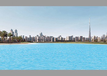 Mohammed Bin Rashid Al Maktoum City – District One ... anchored by a monumental 100-acre lagoon.