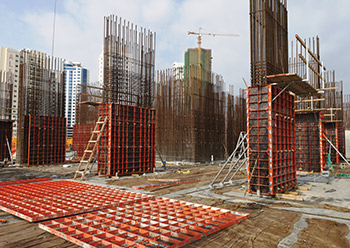 Paschal formwork was used in the construction of Burj Kadi tower in Juffair.