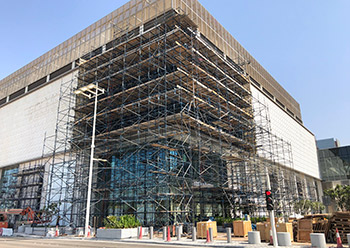 The Scaffolding and Access Solutions division of Al Futtaim Engineering has carried out a number of projects in the UAE.