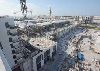Marassi Galleria ... work is under way.