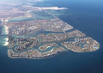 Masterplan of the Diyar Al Muharraq development.