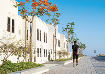 Khalifa Town will contain over 6,000 units.