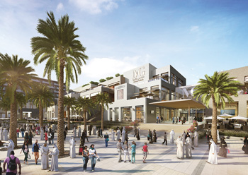 Marassi Galleria ... to feature 470 retail and anchor units.