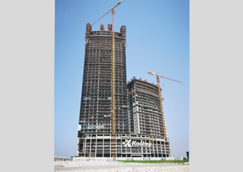 Onyx at Bahrain Bay ... set to be a striking landmark.
