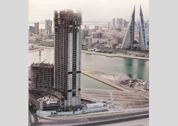Onyx Bahrain Bay ... a striking landmark.