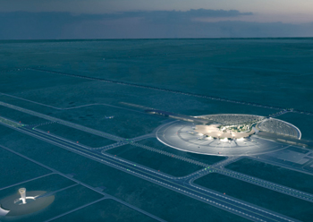 The Red Sea airport will serve one million passengers per year when it opens in 2022.