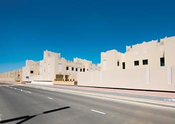 Al Ramli housing development ... a key project.