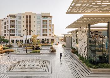 Al Mouj, Muscat ... expanding.