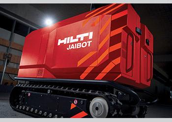 Jaibot, a semi-autonomous drilling robot.