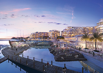 Madinat Sultan Qaboos Waterfront ... on the cards.