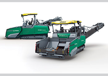 The MT 3000-3i Standard and MT 3000-3i Offset PowerFeeders ... designed to boost paving efficiency.