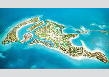 Shurayrah ... a dolphin-shaped island.