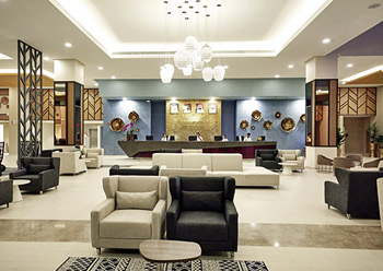 Hotel spaces ... functional and comfortable.