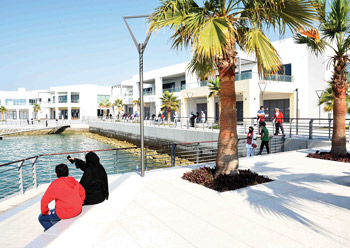 An important heritage project, Sa'ada will link Muharraq's existing historical setting with the waterfront via an iconic bridge.